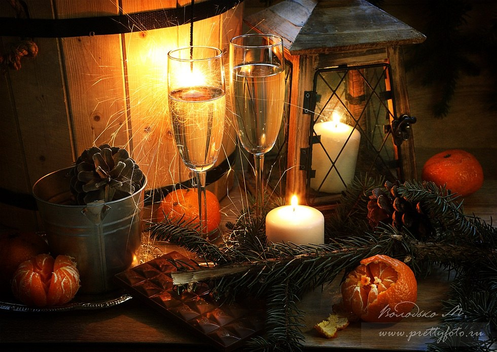 Bright new-year still lifes with Russian soul by Marina Volodko - 10