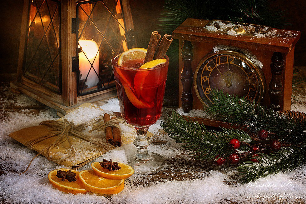 Bright new-year still lifes with Russian soul by Marina Volodko - 12