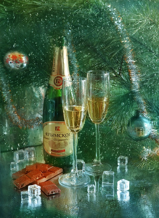 Bright new-year still lifes with Russian soul by Marina Volodko - 3