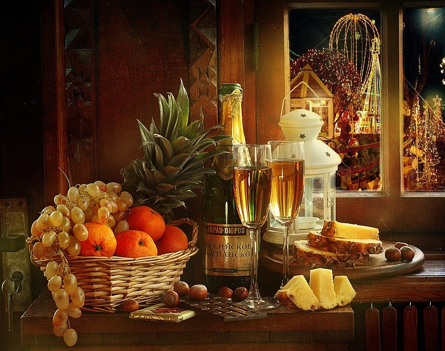 Bright new-year still lifes with Russian soul by Marina Volodko - 5