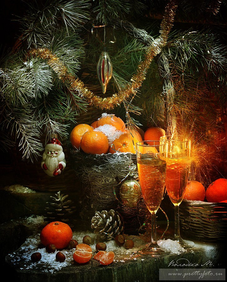 Bright new-year still lifes with Russian soul by Marina Volodko - 8