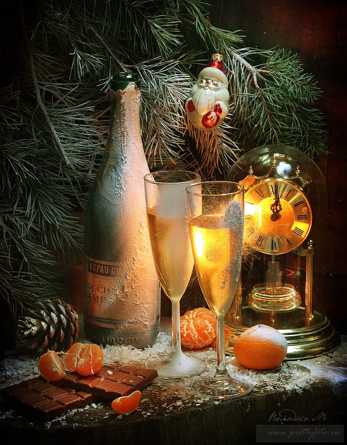 Bright new-year still lifes with Russian soul by Marina Volodko - 9
