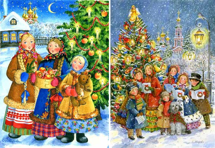 Orthodox Christmas and New Year in pictures by Elena Uvarova - 20