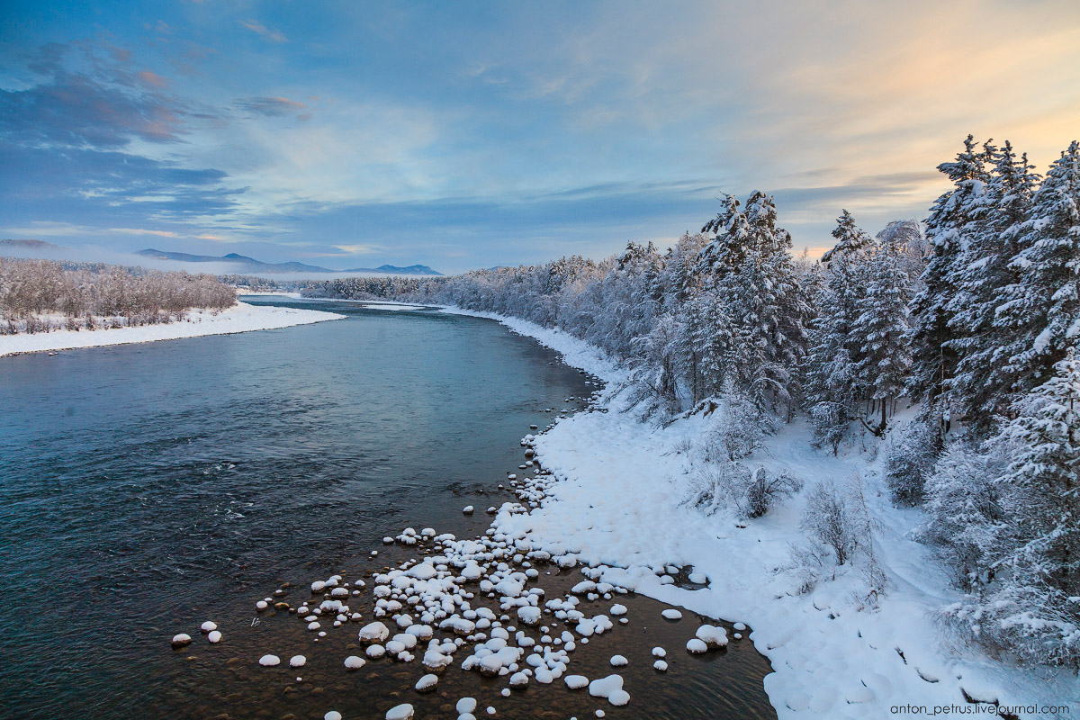 Severe but wonderful Altai winter in photos by Anton Petrus - 12