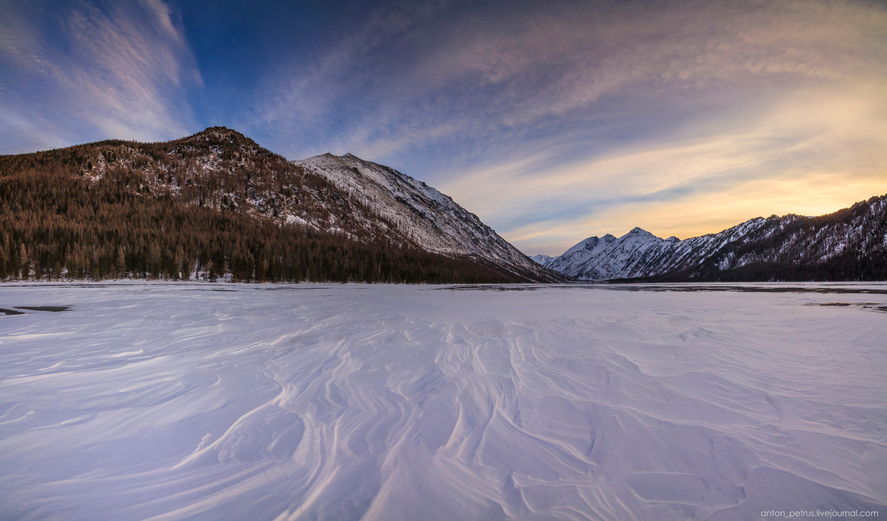Severe but wonderful Altai winter in photos by Anton Petrus - 19