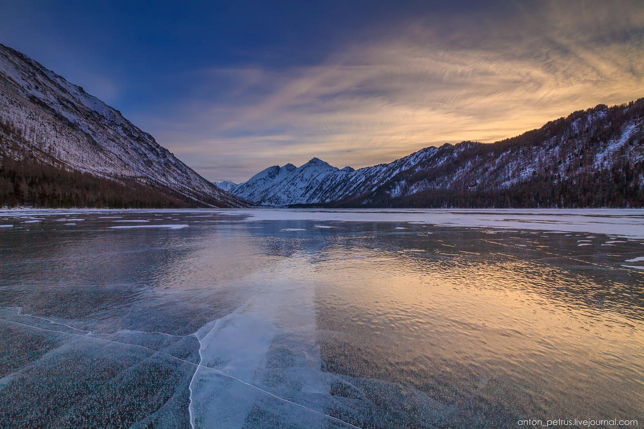 Severe but wonderful Altai winter in photos by Anton Petrus - 21