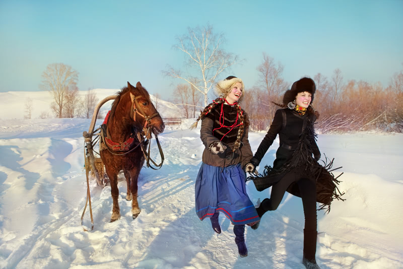 Beauty of Slavic folklore in photos by Andrey Yakovlev - 1
