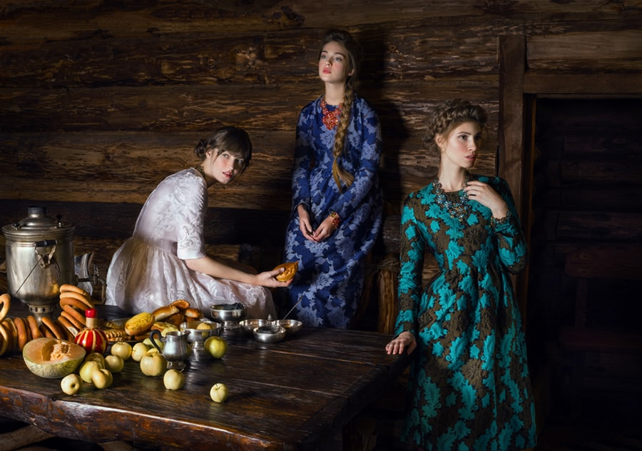 Beauty of Slavic folklore in photos by Andrey Yakovlev - 15