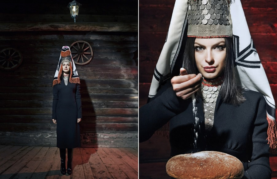 Beauty of Slavic folklore in photos by Andrey Yakovlev - 21